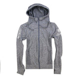 Women's International Pro Elite (IPE) Fitted Compression Hoodie - Gray
