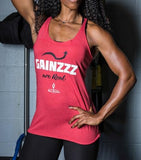 Women's Gainzzz Are Real Racerback Tank Top