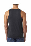 *New - Men's Tattoos and MusclesTri-Blend Tank Top - Charcoal Grey