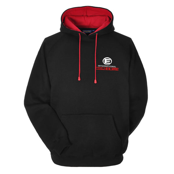 *NEW - BACK IN STOCK - International Pro Elite (IPE) French Terry Hoodie - Red/Black