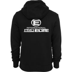 International Pro Elite (IPE) Tri-blend Full-Zip Lightweight Hoodie - Black