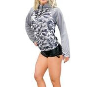 *NEW- Women's Double Hoodie - Camo