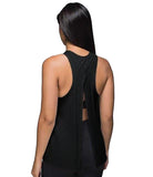 *NEW - Women's MM Tie Back Tank Top - Black