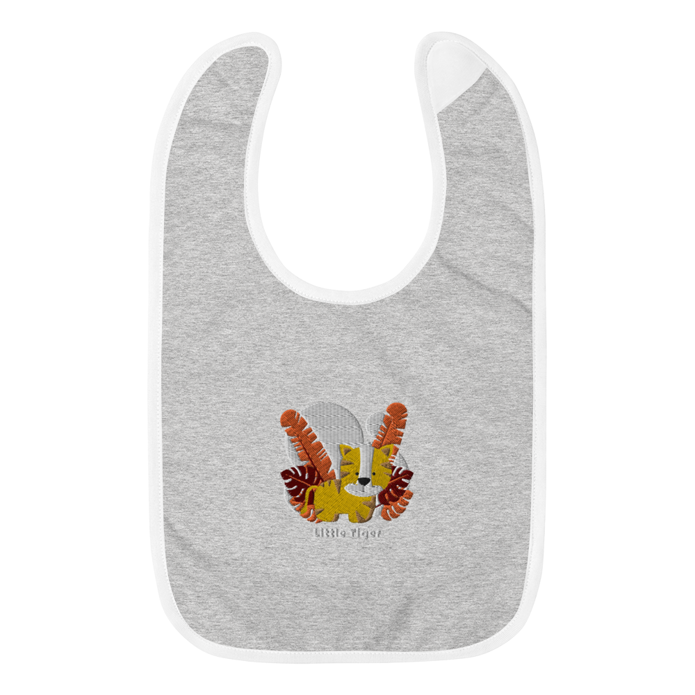 Little tiger Embroidered Baby Bib