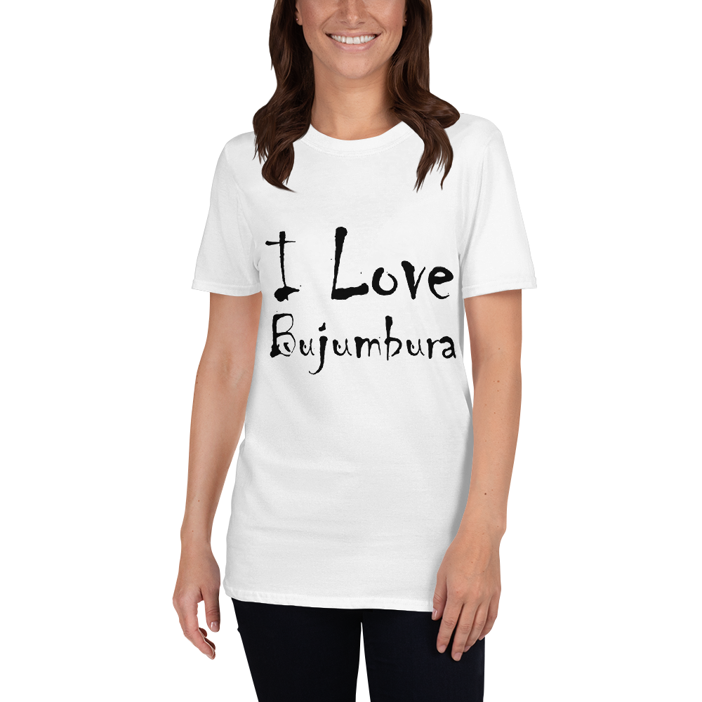 I Love Bujumbura Short-Sleeve Unisex T-Shirt