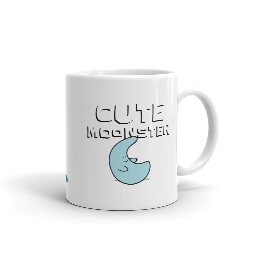 Cute Moonster Mug