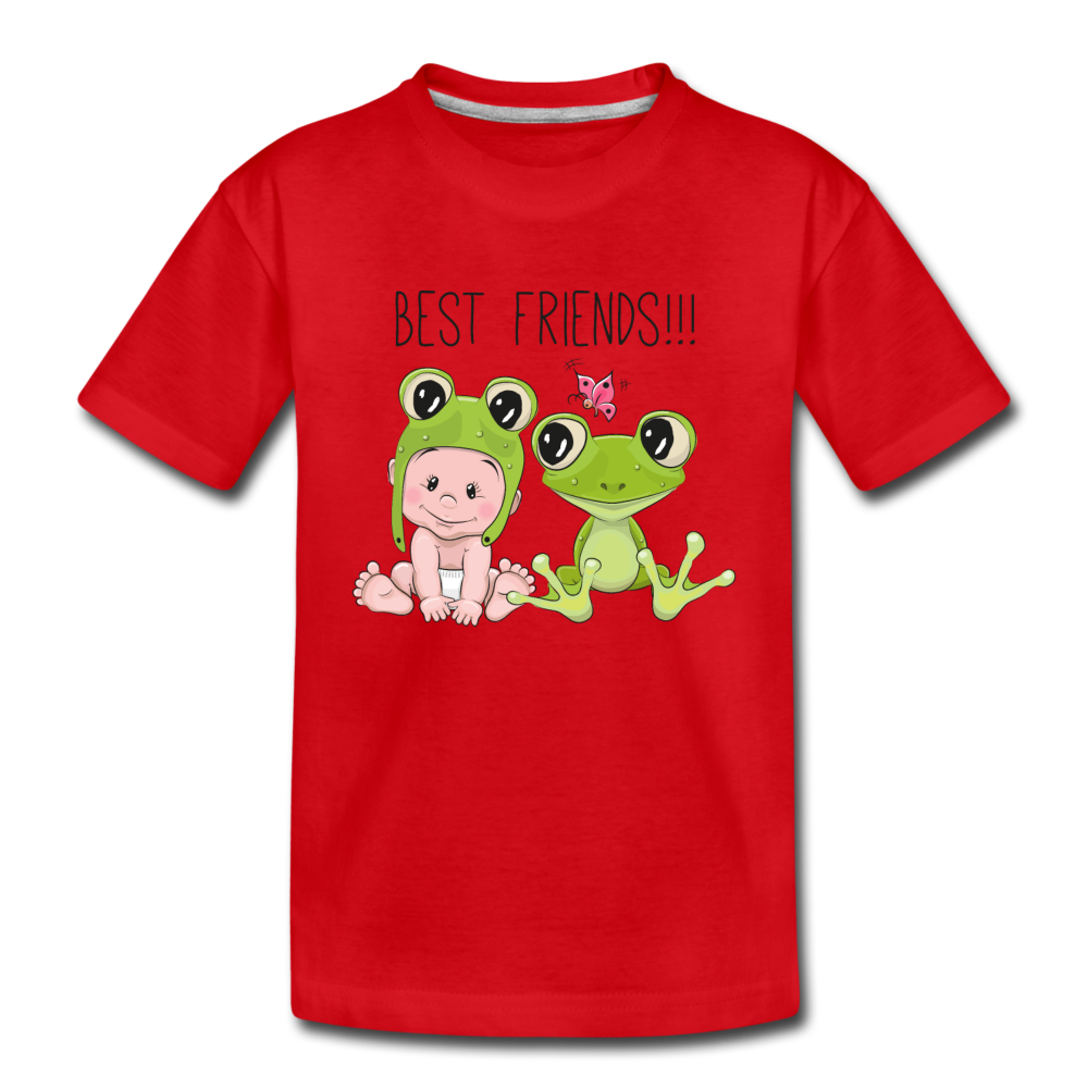 Best Friends Toddler Premium T-Shirt - red