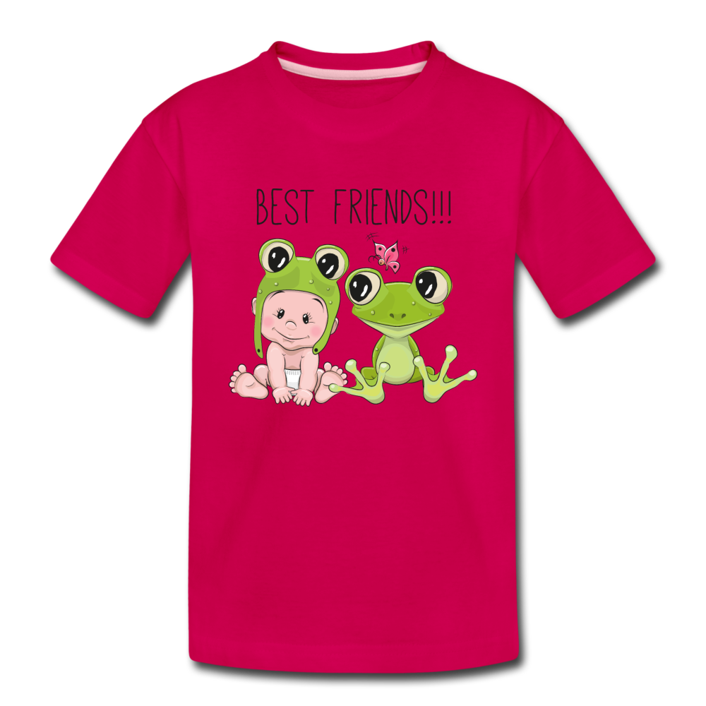 Best Friends Toddler Premium T-Shirt - dark pink