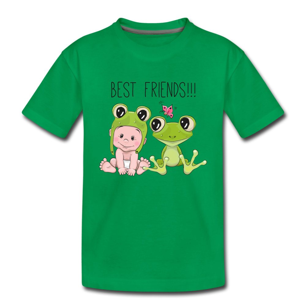Best Friends Toddler Premium T-Shirt - kelly green