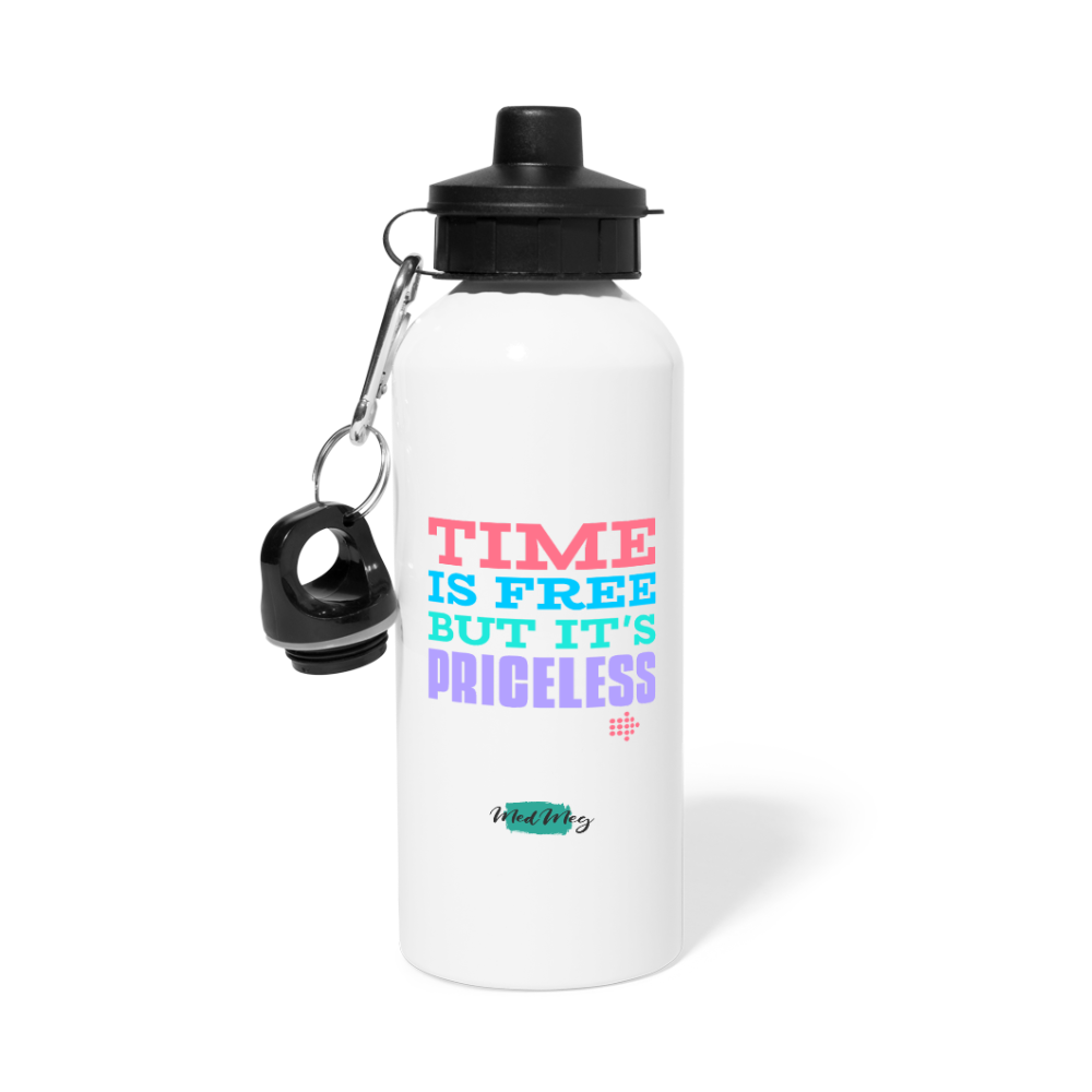 Time is free Water Bottle