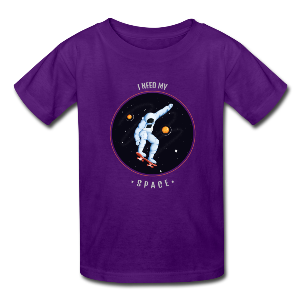Space Kids' T-Shirt - purple