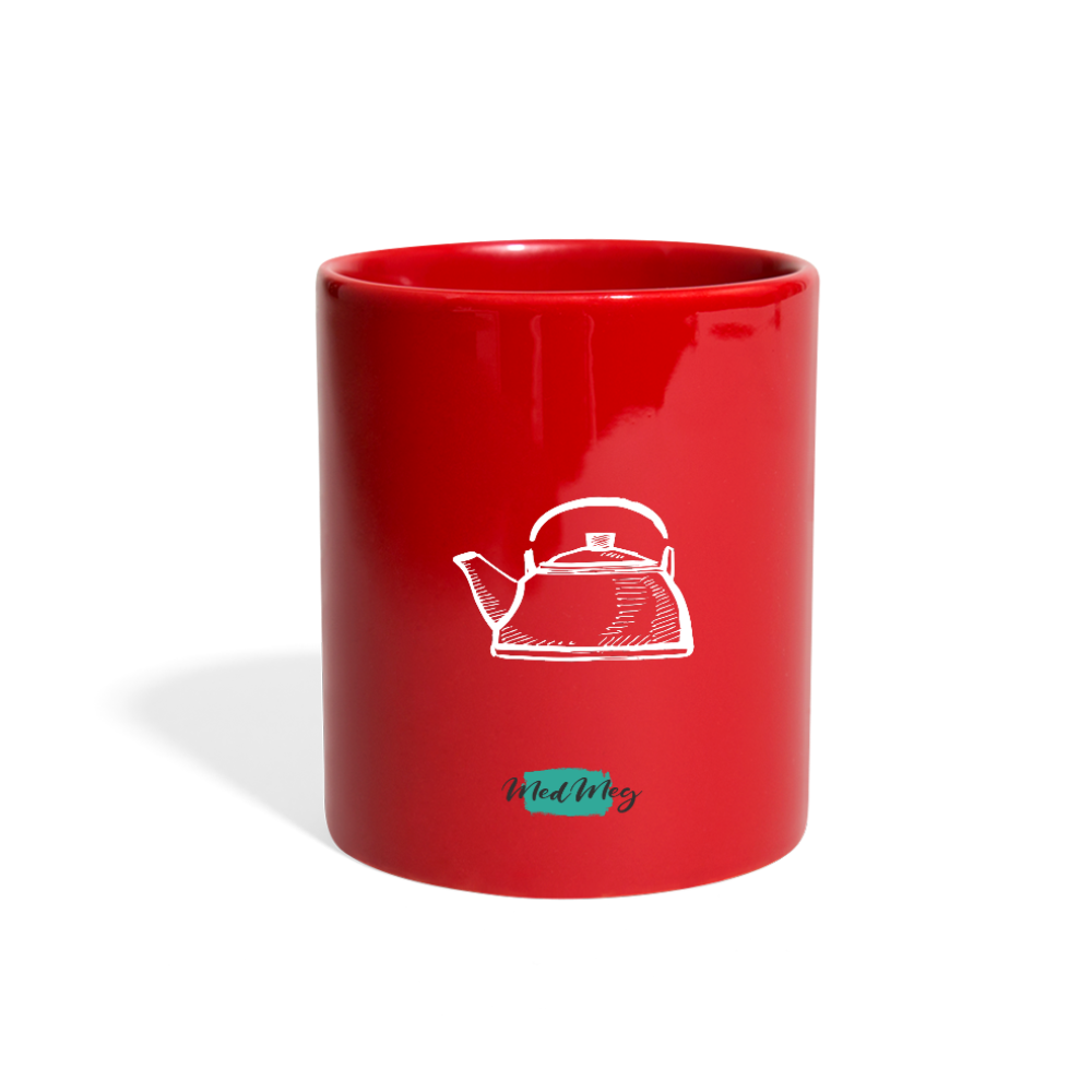 Simple Full Color Mug - red