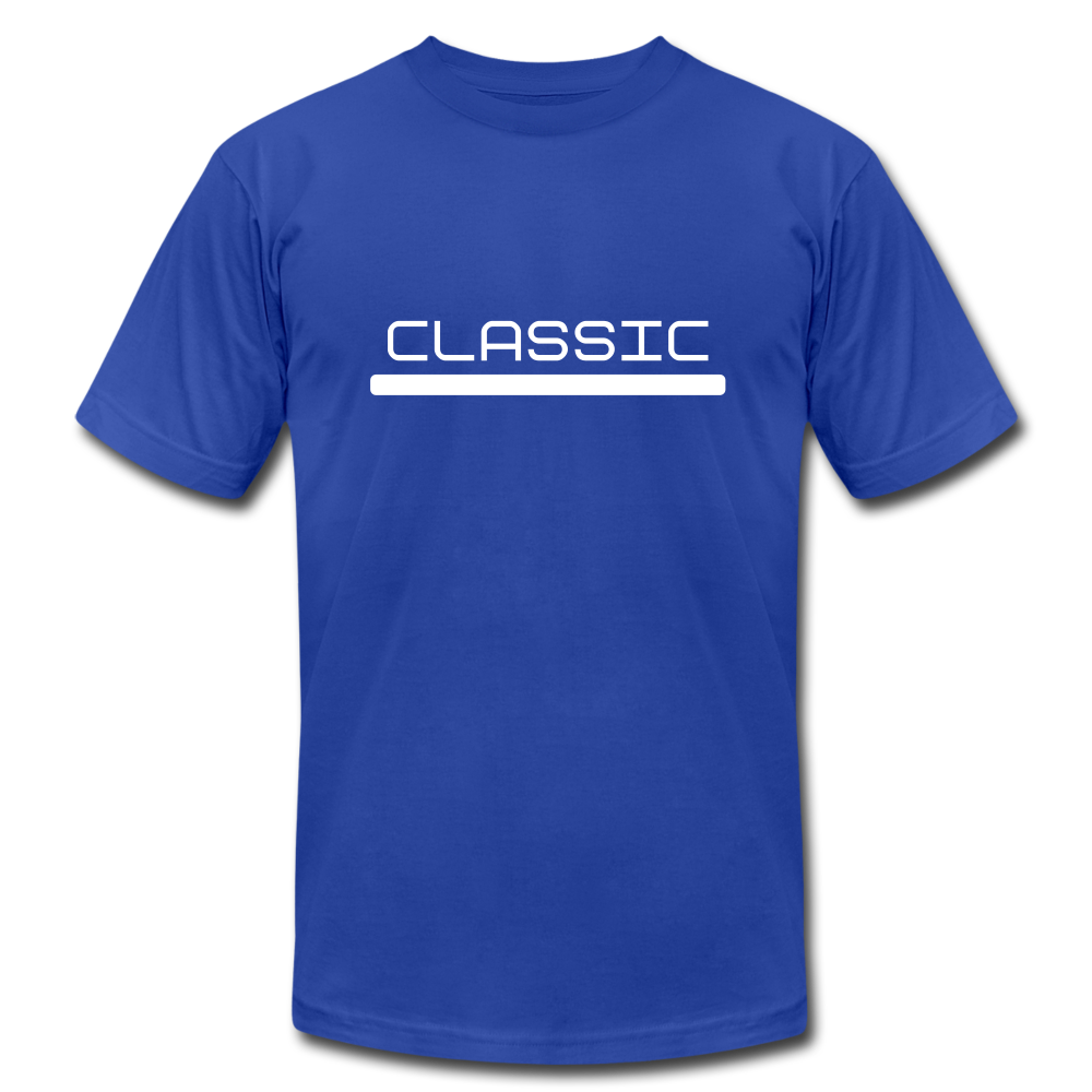 Classic Jersey T-Shirt - royal blue