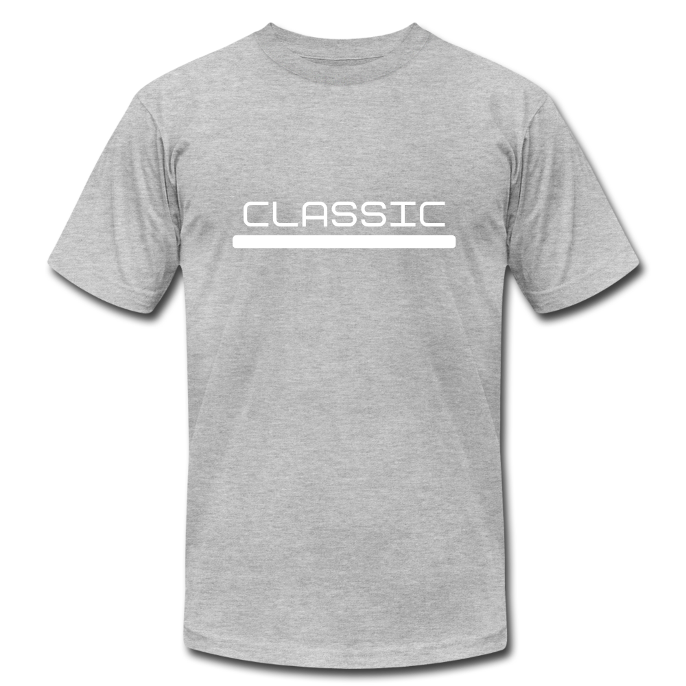 Classic Jersey T-Shirt - heather gray