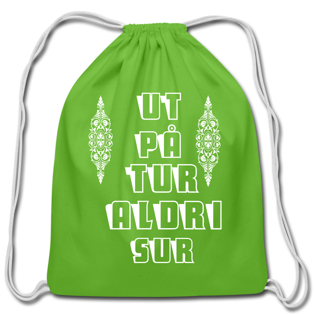 Ut Pa Tur Cotton Drawstring Bag
