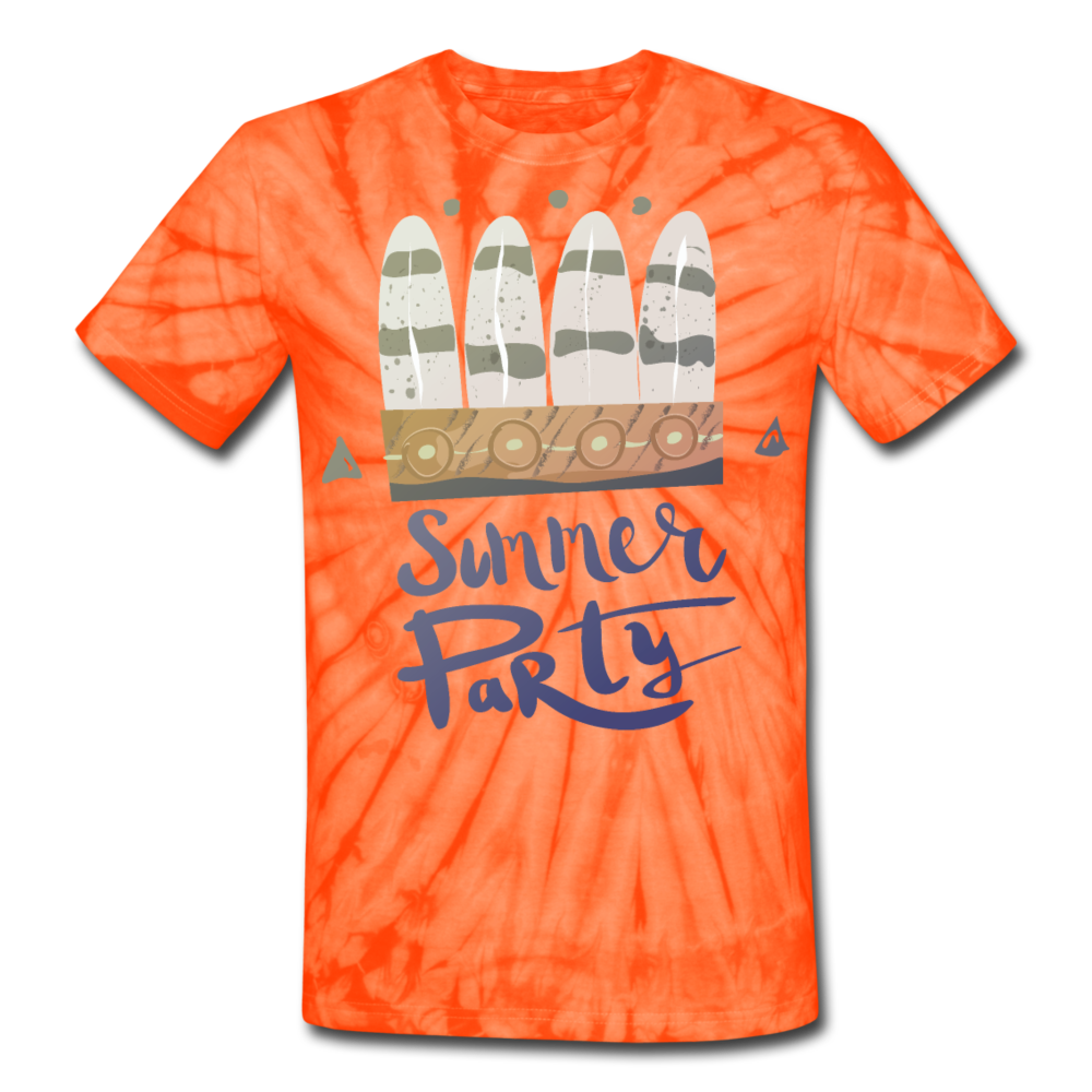 Summer Party Unisex Tie Dye T-Shirt