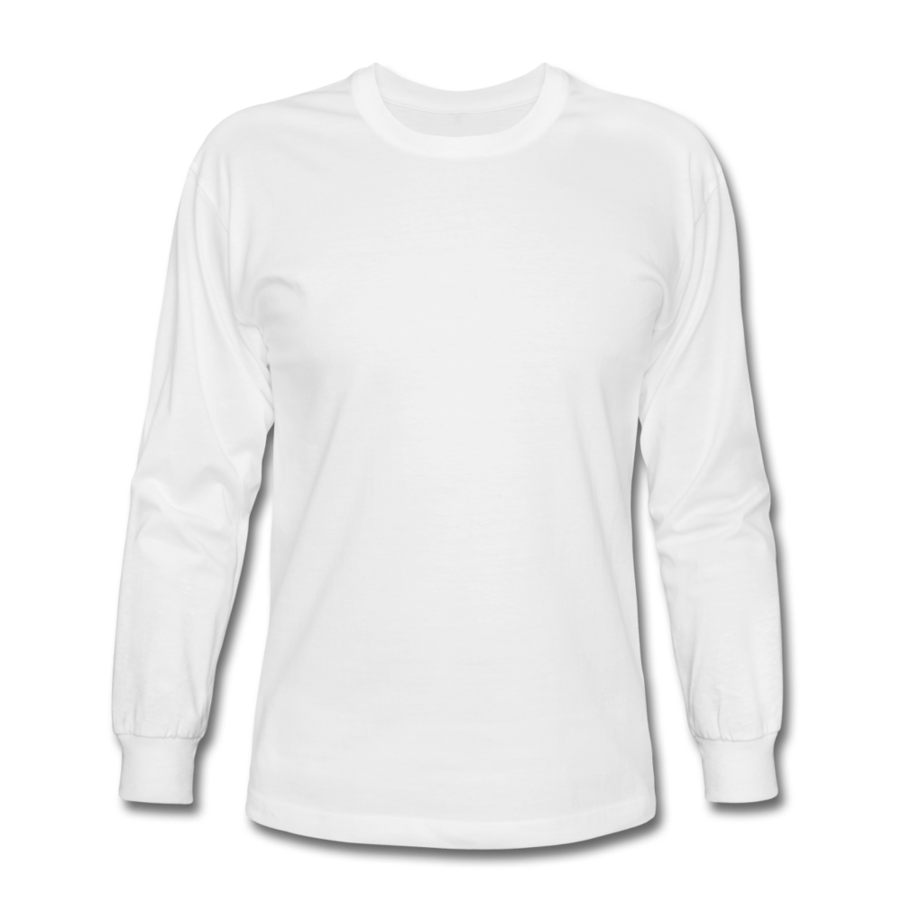 Men's Long Sleeve T-Shirt - white