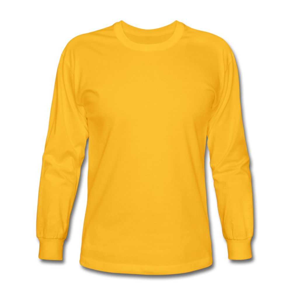 Men's Long Sleeve T-Shirt - gold