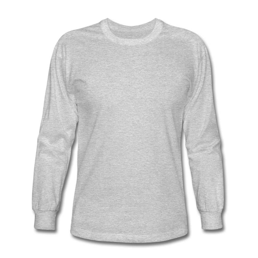Men's Long Sleeve T-Shirt - heather gray