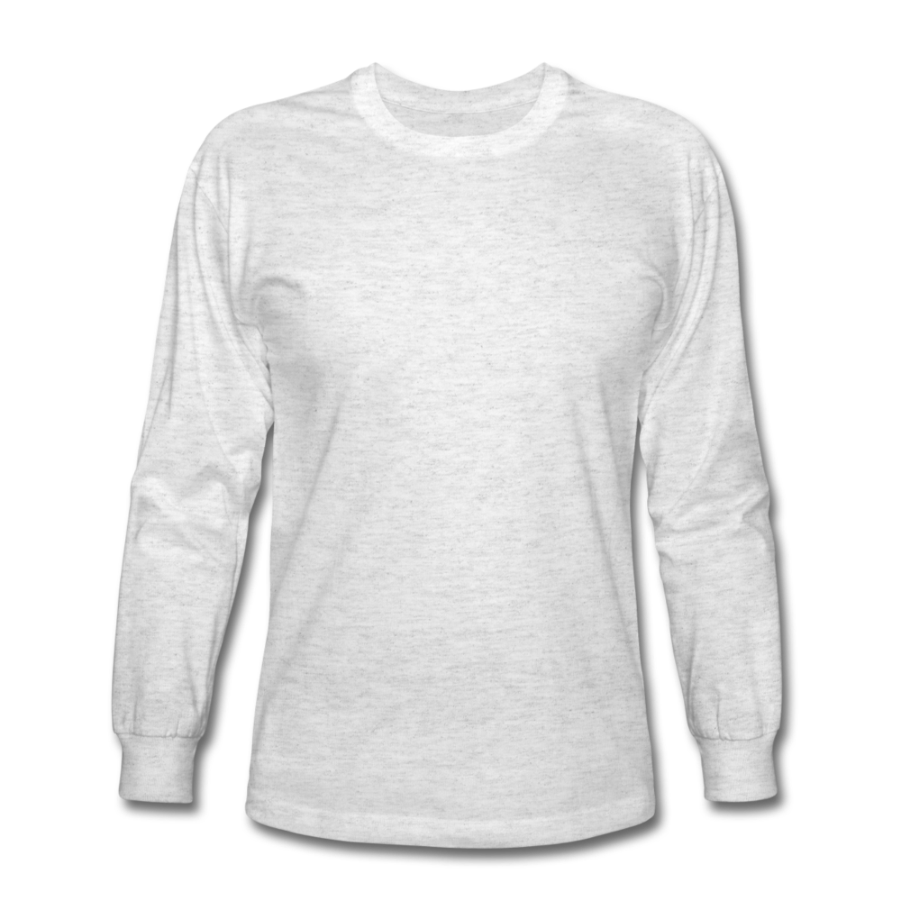 Men's Long Sleeve T-Shirt - light heather gray
