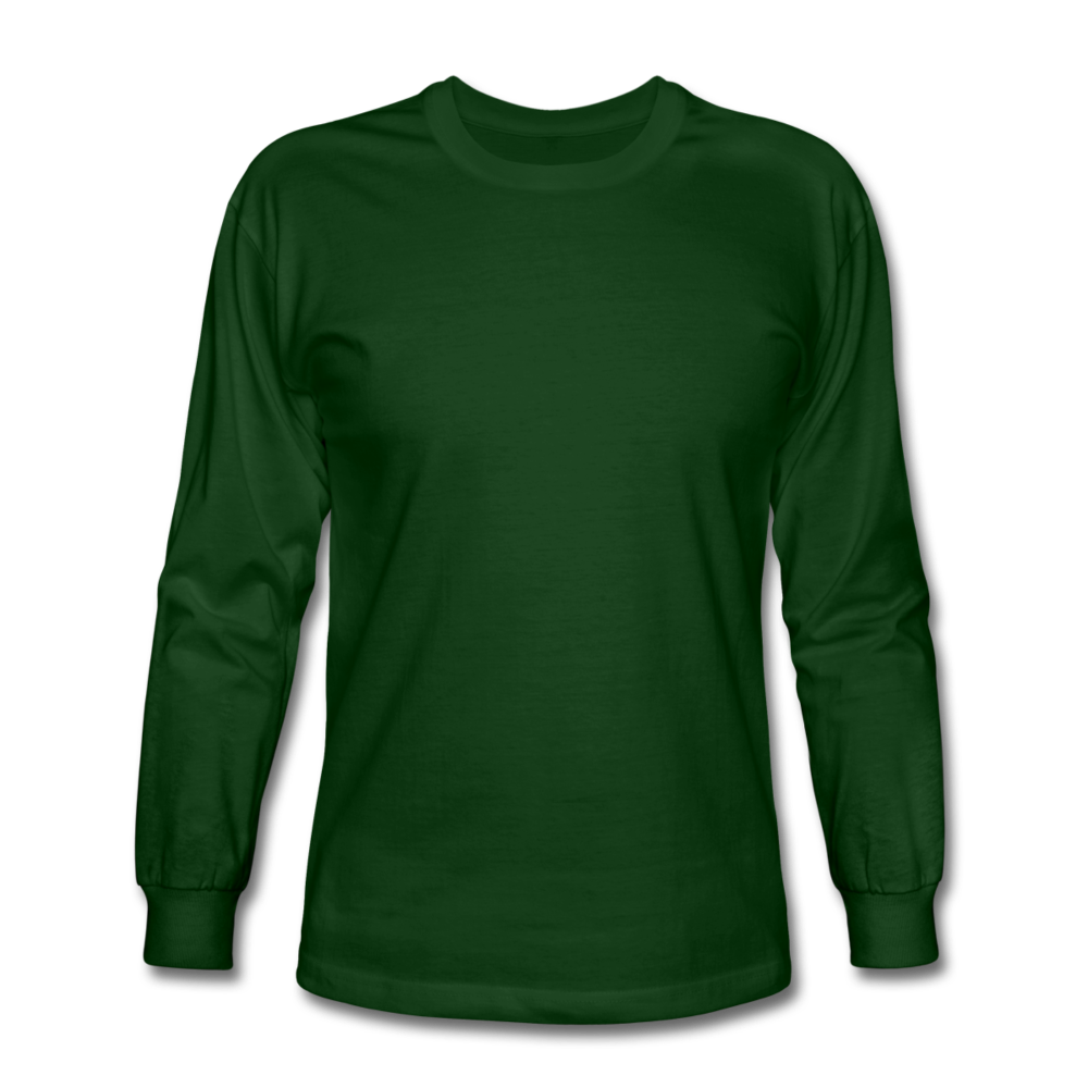 Men's Long Sleeve T-Shirt - forest green