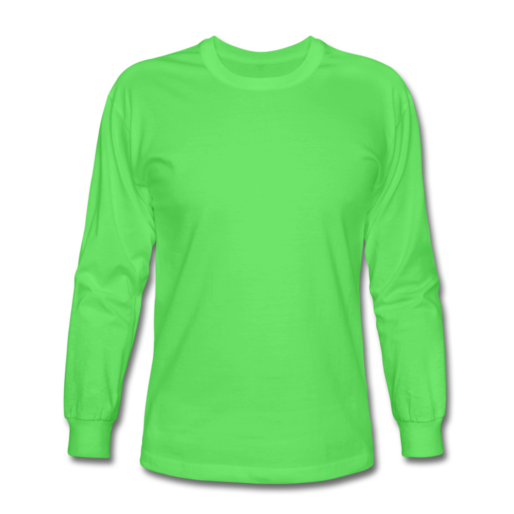Men's Long Sleeve T-Shirt - kiwi