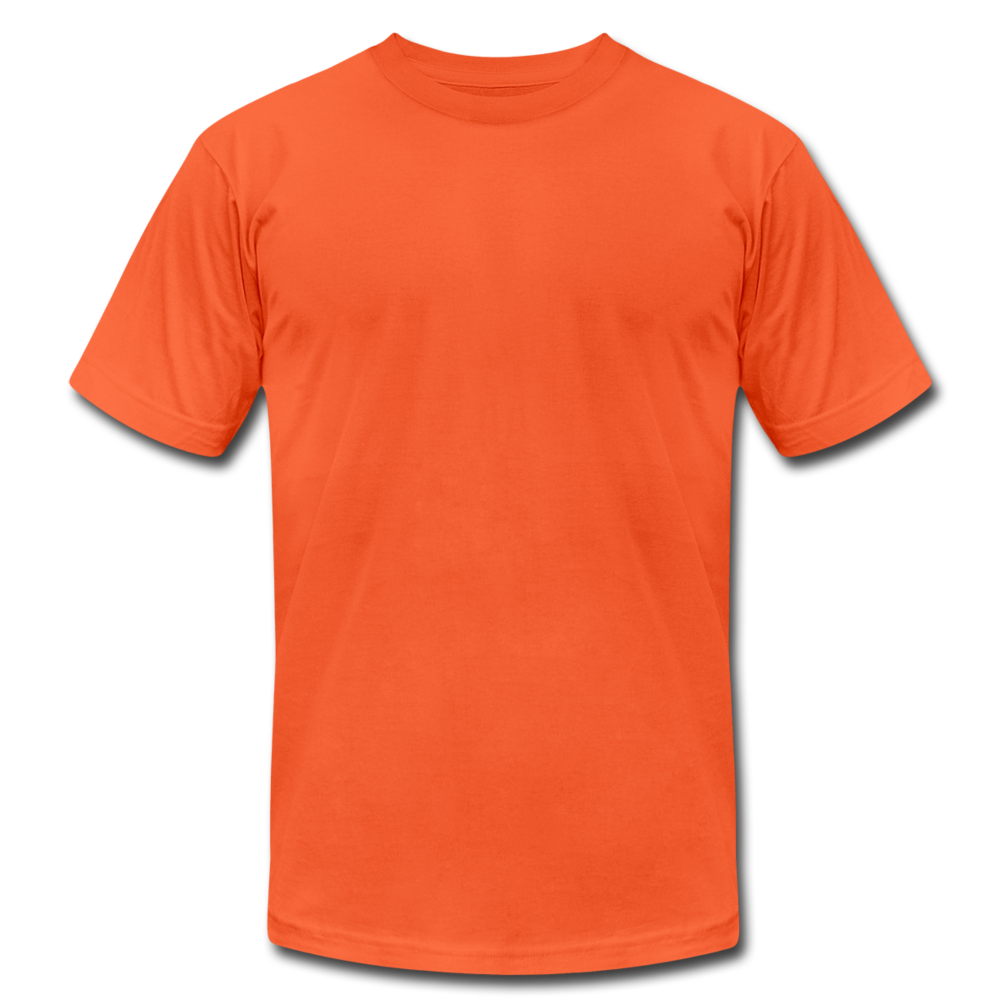 Unisex Jersey T-Shirt by Bella + Canvas - orange