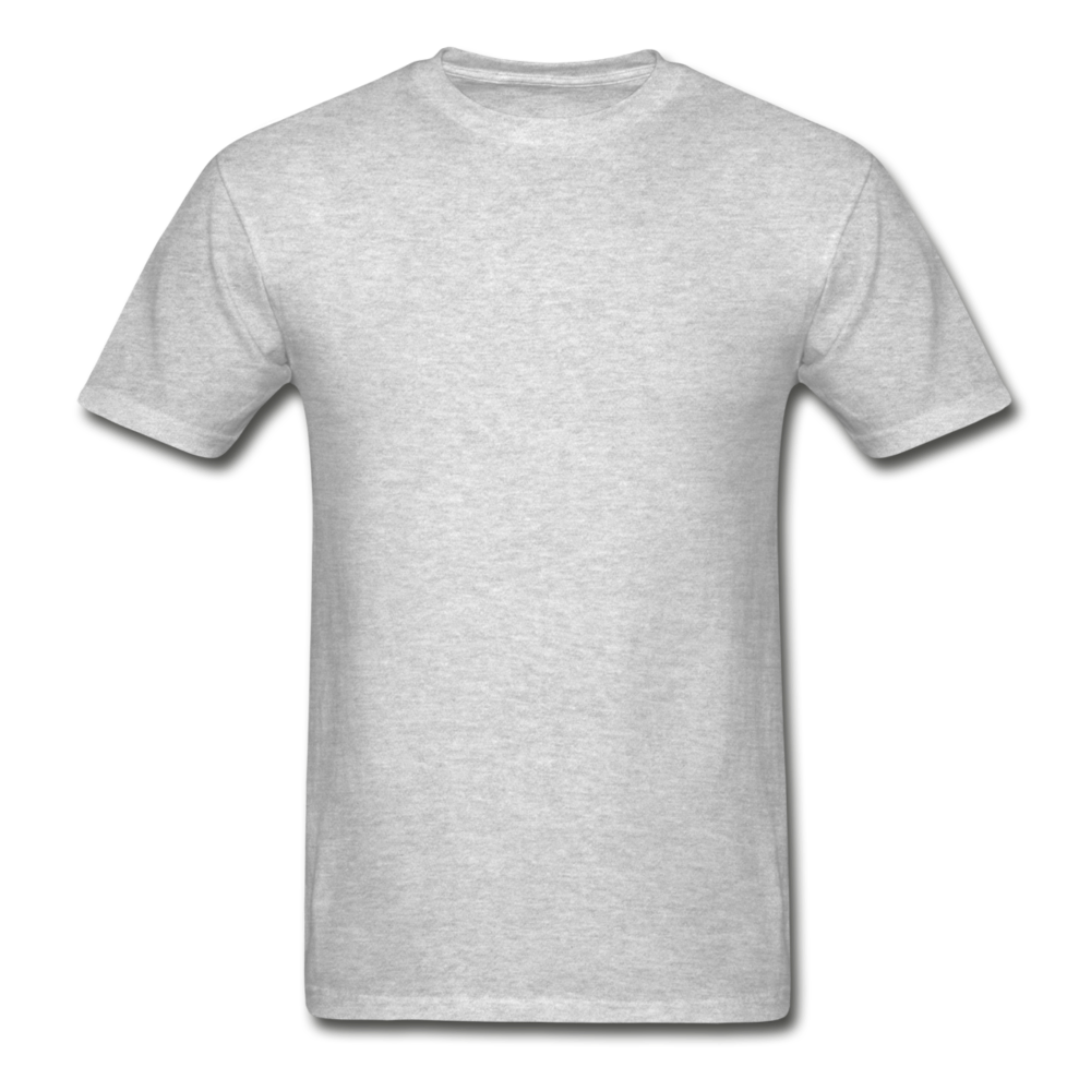 Hanes Adult Tagless T-Shirt - heather gray
