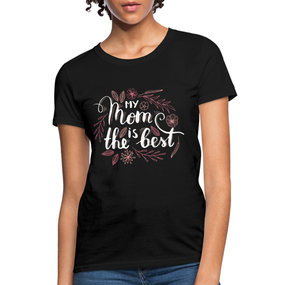 Best Mom Women's T-Shirt - black