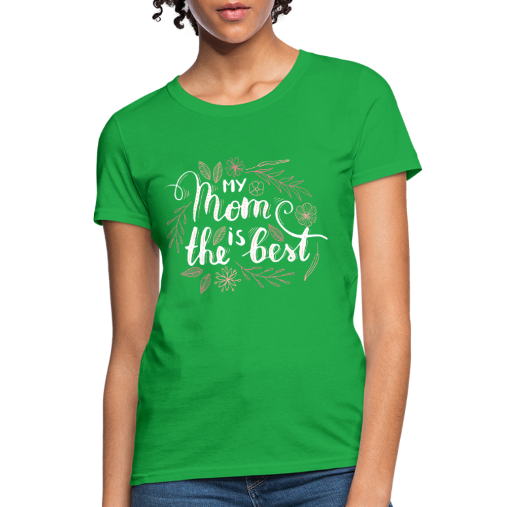 Best Mom Women's T-Shirt - bright green