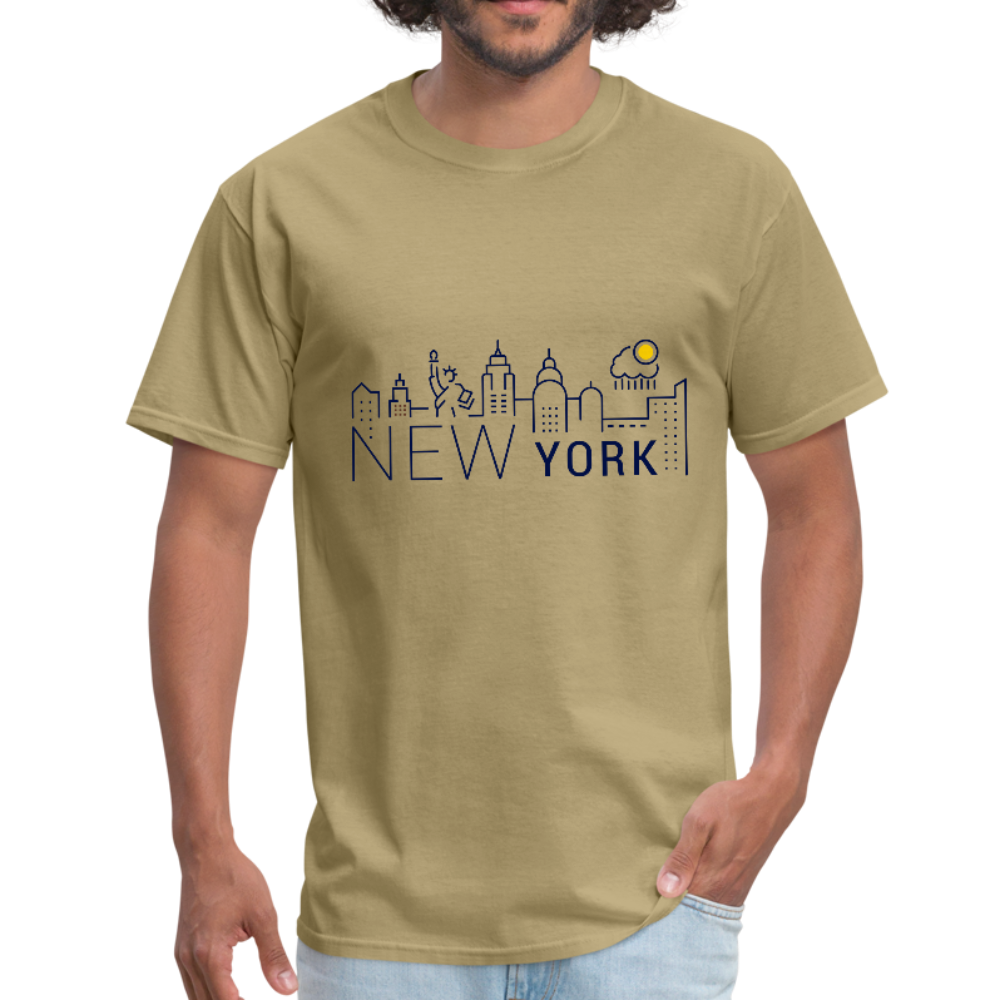Men's T-Shirt - khaki
