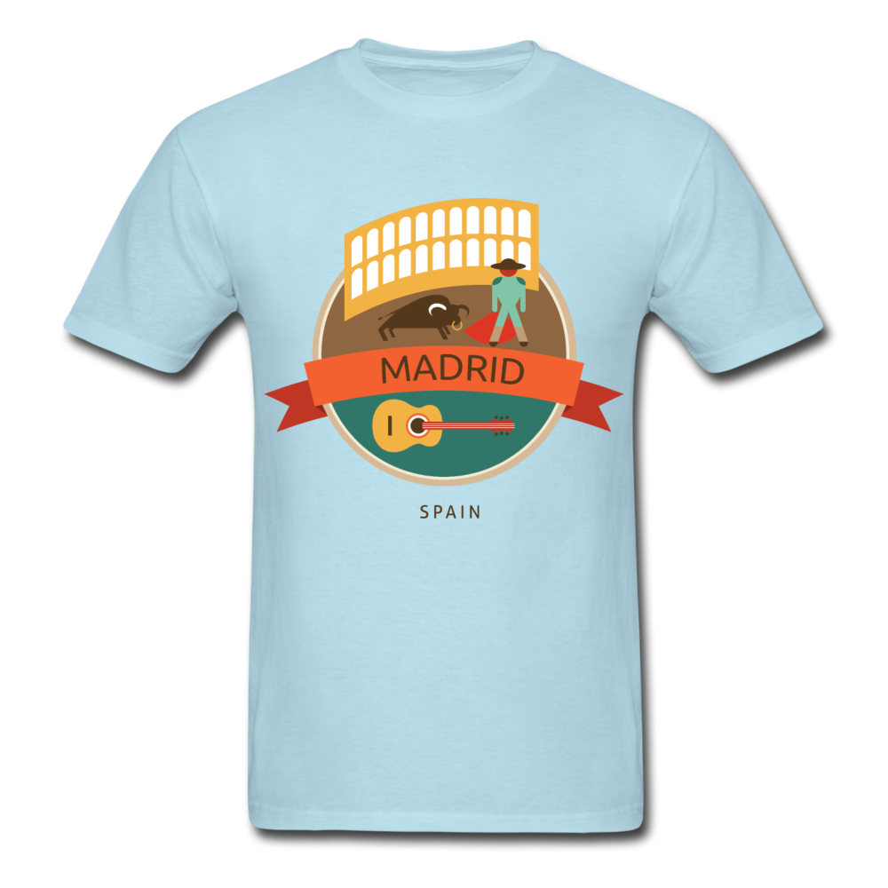 Madrid Men's T-Shirt - powder blue
