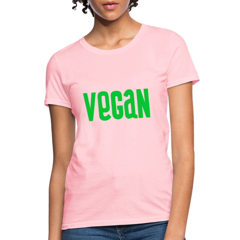 Vegan Women's T-Shirt - pink