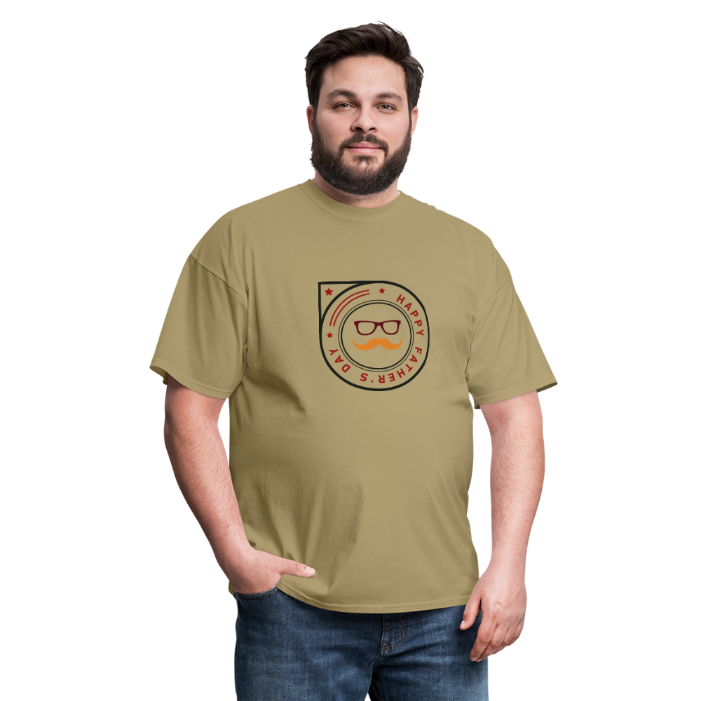 Father's Day Men's T-Shirt - khaki