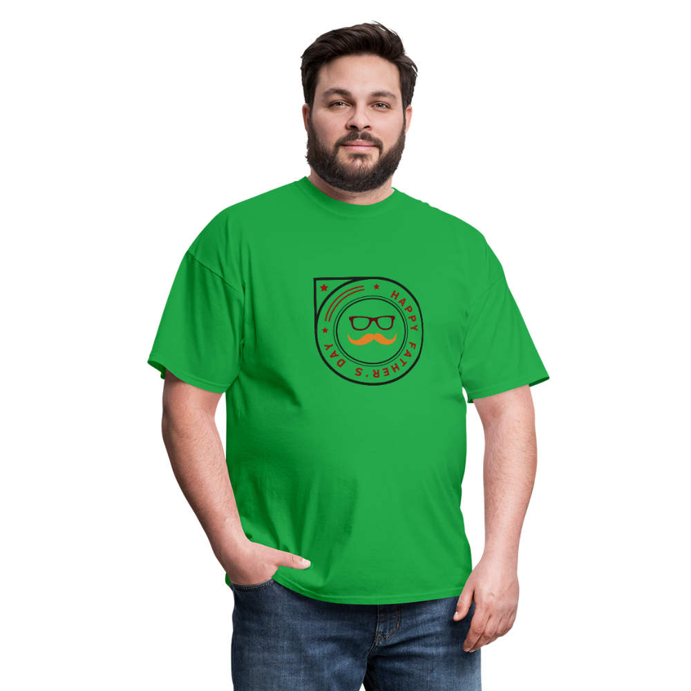 Father's Day Men's T-Shirt - bright green