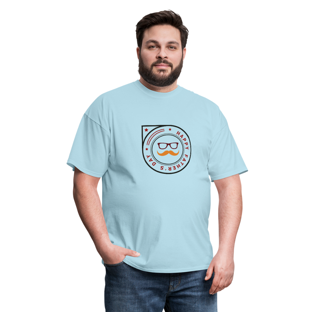 Father's Day Men's T-Shirt - powder blue