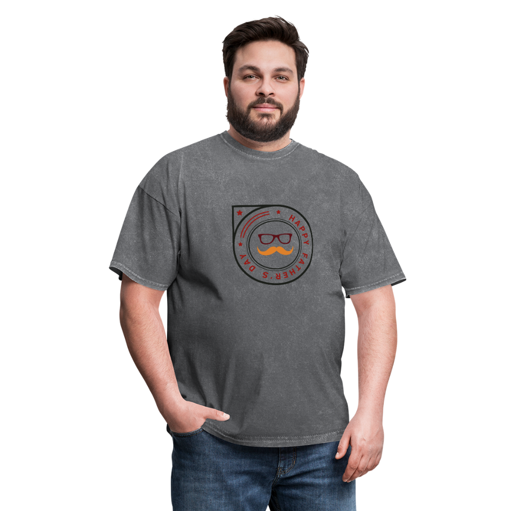 Father's Day Men's T-Shirt - mineral charcoal gray