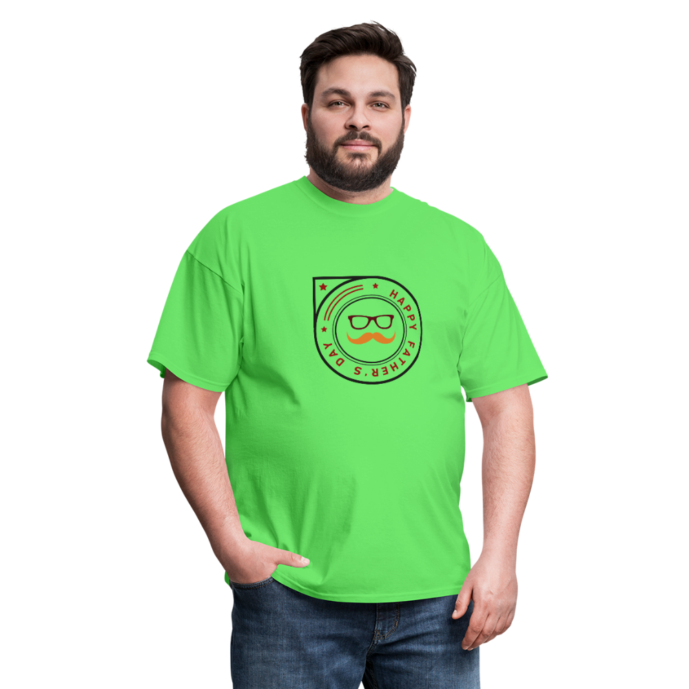 Father's Day Men's T-Shirt - kiwi