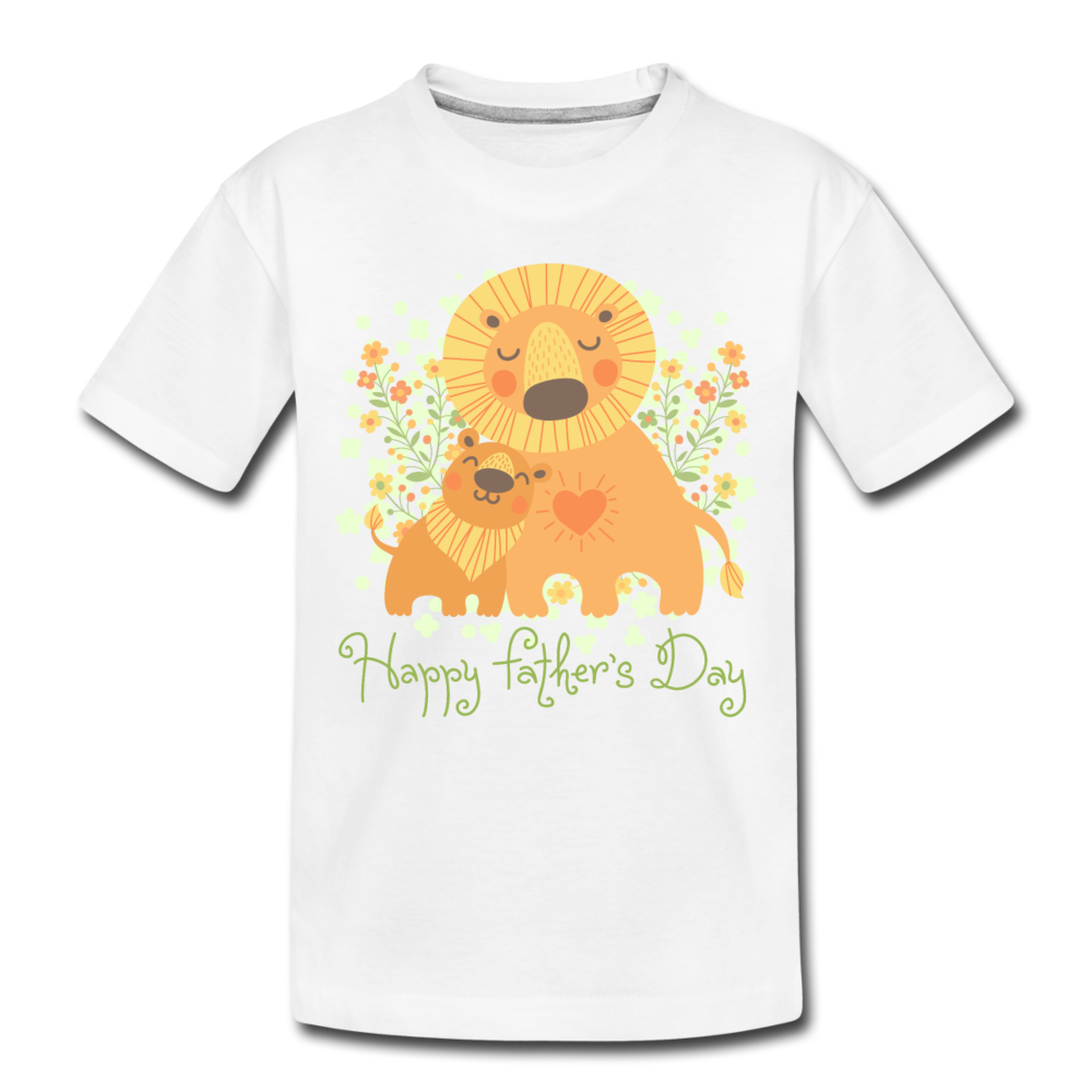 Happy Father's Day Toddler Premium Organic T-Shirt