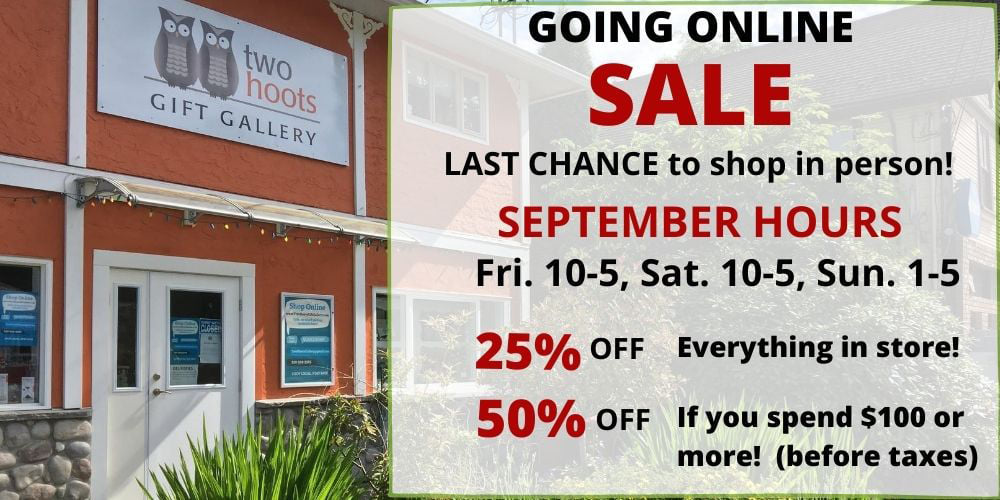 Shop Our September Sale In Person!