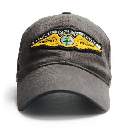 Ball Cap, Vintage Canadiana Logo, National Air Service Forestry Branch - Two Hoots Gift Gallery