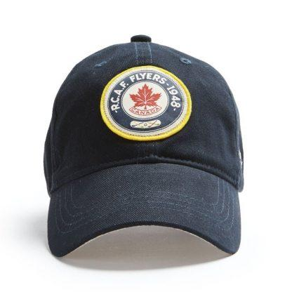 Ball Cap, Vintage Canadiana Logo, R.C.A.F. Flyers 1948- - Two Hoots Gift Gallery