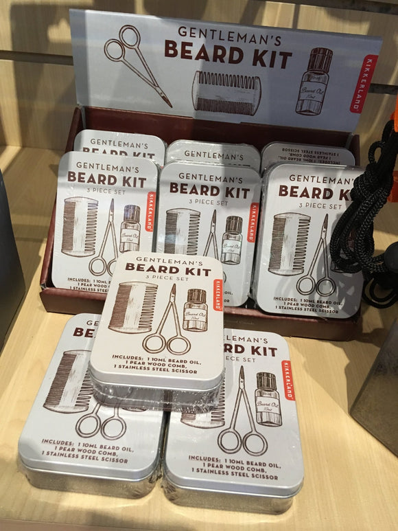 Beard Kit in a Metal Tin - Two Hoots Gift Gallery