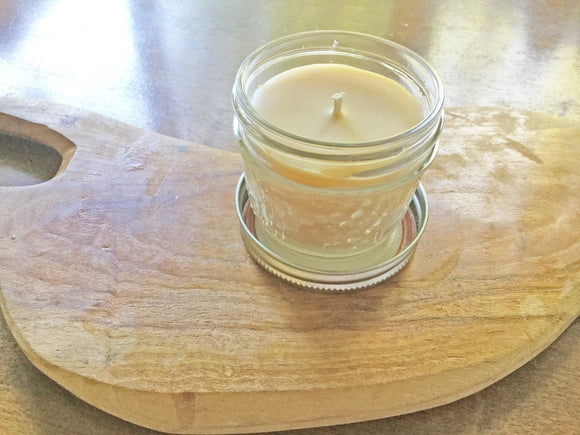 Beeswax Candles, Can O' Candle - Two Hoots Gift Gallery
