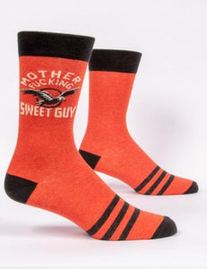 Fun Men's Socks, Mother Fucking Sweet Guy - Two Hoots Gift Gallery
