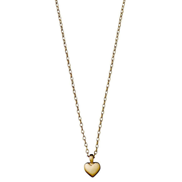 Sophia Gold Dainty Heart Necklace - Two Hoots Gift Gallery