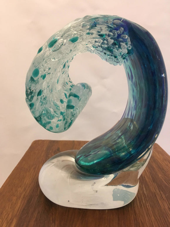 West Coast Wave, Art Glass, 5.5