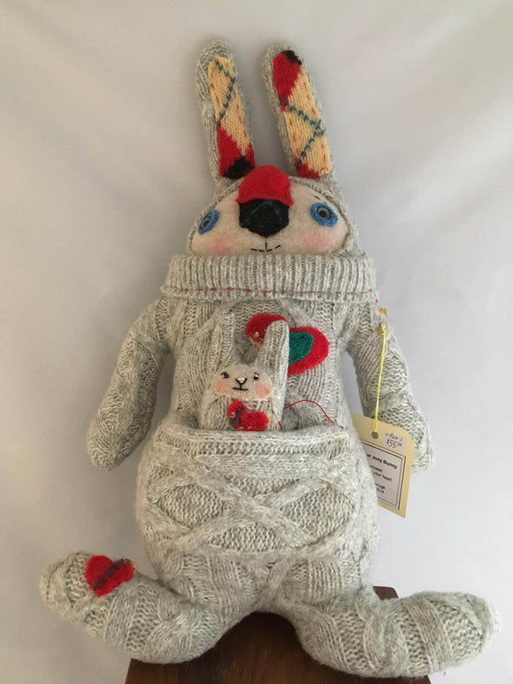 Wooly Critters: Joey Bunny - Two Hoots Gift Gallery