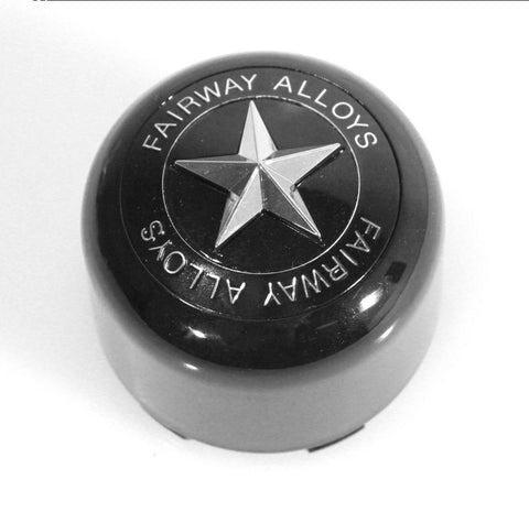 FA-9906 (Pop-In) Star Cap - Wheel Pros Powersports Division