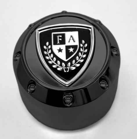FA-9910 (Gloss) Crest Cap - Wheel Pros Powersports Division